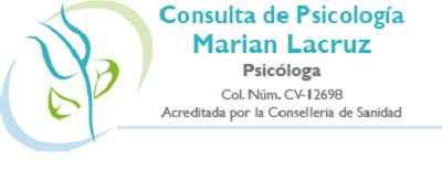 Consulta de Psicología en Valencia Marian Lacruz
